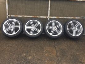 "Audi 19"" Trispoke RS6 wheels and Tyres"