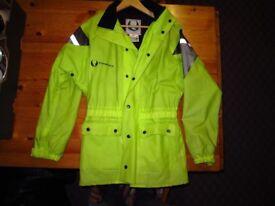 "Belstaff Stormshield Waterproof hi-viz bike jacket (38-40"" Unisex)"