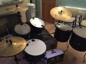 """Mapex Mars Special Edition 22"""" Fusion 6 Piece Drum Kit"""