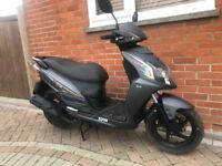 Sym jet 4 125cc 2016 scooter moped mot till 2019