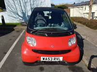 Smart car for two cabriolet