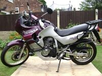 honda transalp j reg fully loaded swaps what s out there