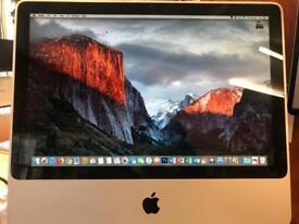 20 inch Apple iMac 2008