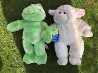 Build a bear frog and lamb