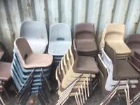 60 x available Kids school chairs