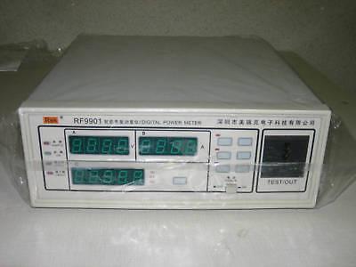 Rf9901 Digital Power Meterelectronics Parameter Tester