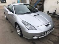 Toyota Celica 2002 nice condition nice balck leather interior