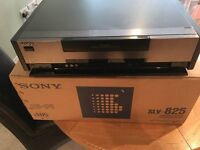 Sony VHS SLV-825 Recorder and Editing Suite. Complete with remote