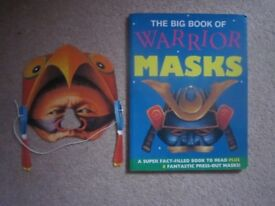 BOOK OF WARRIOR (wearable) MASKS