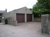 Classic car, camper van or supercar storage! Garage to let with water, electric and powered door
