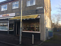 small florest\fruit shop lease for sale £7000 ono