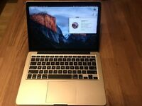 "MacBook Pro early 2015 13"" i5 2.7GHz 256GB 8GB RAM Force Touch"