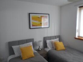 SUPERB MODERN 2 BEDROOM fully furnished flat