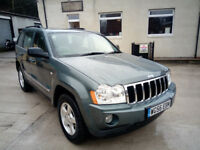 Jeep Grand Cherokee CRD LTD 3.0 Diesel Auto 2007 in Superb Condition
