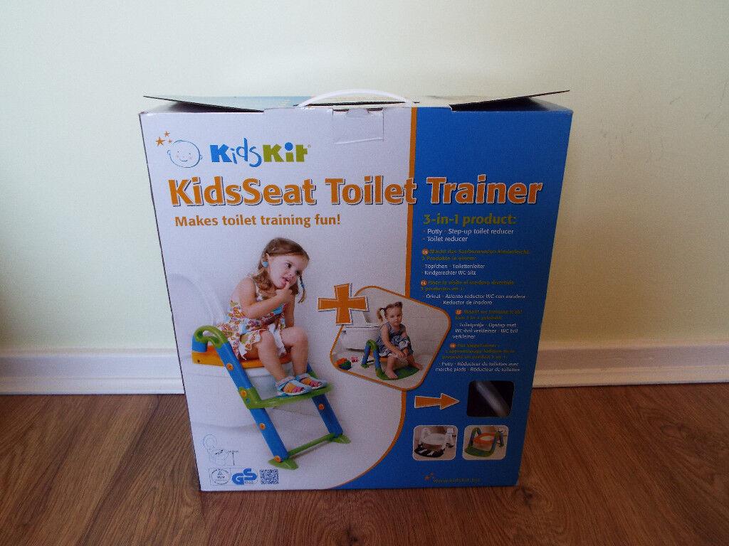 KidsSeat 3-in-1 Toilet Trainer