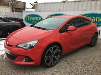 Vauxhall GTC 1.4 16v Turbo Limited Edition (s/s), 2014, Manual - £59 PER WEEK - CAR IS £8495