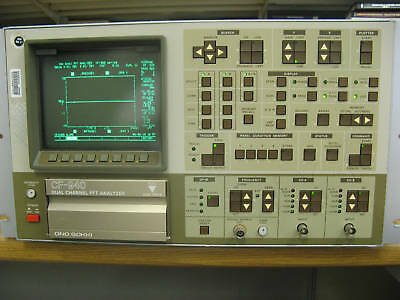 Ono Sokki Cf-940 900 Series Dual Channel Fft Analyzer