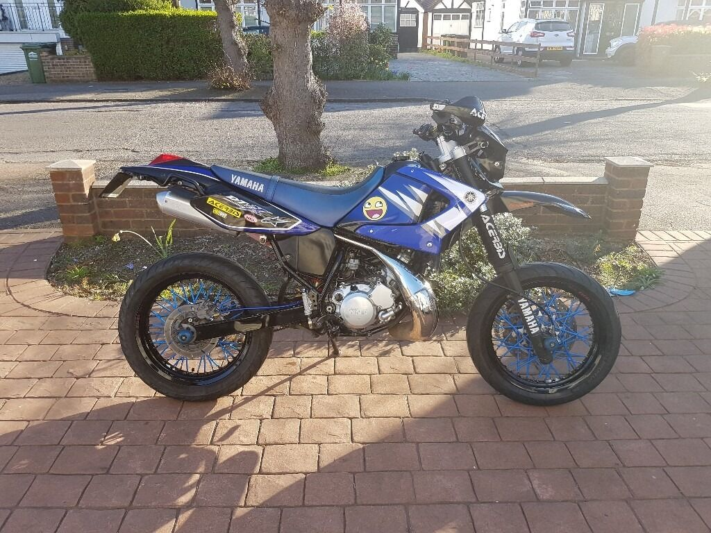 yamaha dt125 x dt 125 sm supermoto in ashford surrey gumtree. Black Bedroom Furniture Sets. Home Design Ideas