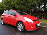 MARCH 2009 HYUNDAI I20 CLASSIC 5DOOR HATCHBACK 1OWNER FROM NEW FULL HYUNDAI SERVICEHISTORY MOT MARCH