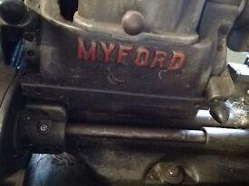 Myford 7 lathe exellent
