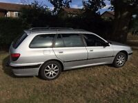 Peugeot 406 Estate SE. Elec front seats. Cruise. Half leather. Tow bar. New tyres & front brakes.