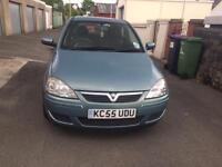 Vauxhall Corsa 1.2, 55 Plate, 10 months MOT