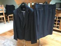 Grey ladies suit