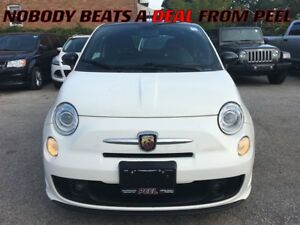 2013 Fiat 500 Abarth**LOW KMS**ROOF**17 HYPER-BLACK ALLOYS**