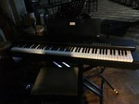 Yamaha CP4, music stand and hard travel case
