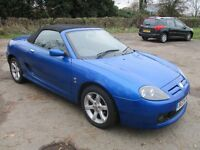 2004 04 MG TF 1.8 SPORT CONVERTIBLE SUPER LOW 68K FULL MOT TWO KEYS ALLOYS EXCELLENT DRIVE PX SWAPS