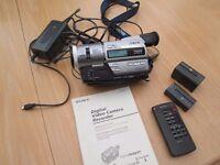 SONY DCR-TR7000e DIGITAL CAMCORDER