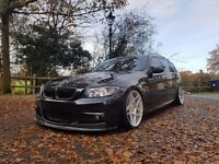 Stanced BMW E91 320D Auto, Full Respray, Full LCI Conversion Lots of Mods Show Car