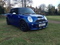 MINI COOPER S CONVERTIBLE, JOHN COOPER WORKS AERO KIT & ONLY 40,000 MILES
