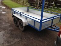 8x4 car trailer for sale