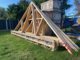 Roof Trusses x 6of 7165 span x 2900 high