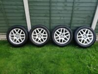 VW VOLKSWAGEN 17 INCH ALLOYS