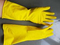 Finesse rubber domestic washing up dishes gloves size S Small
