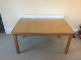 Large Solid Wood Table (Next) - 4 to 6 Person