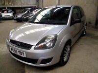 FORD FIESTA 1.25 STYLE CLIMATE - IDEAL FIRST CAR, GENUINE LOW MILEAGE, FSH, FULL MOT, LOW INSURANCE