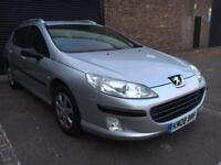 Peugeot 407 SW Estate 1.7L manual 2 keys