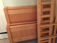 Aspace Children's New England Bunk Bed (or two single beds) - Solid Beech Wood