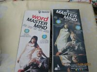Two Vintage 1970's Matermind Games