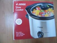 New Judge Electric Slow Cooker 1.5L (Silver)