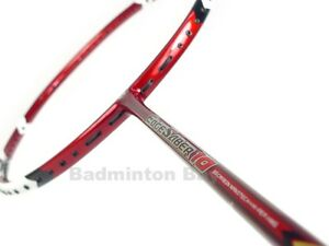 Apacs EdgeSaber 10 Red Badminton Racket Racquet NEW Free String and PU Grip