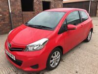 Toyota Yaris Diesel TR D4-D 3 door hatch 2012 Immaculate with full Toyota service history