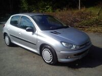 "★ 03 Peugeot 206 1.4 Hdi ""DIESEL"" 75 Mpg £30 year tax ★ fiesta clio corsa 206 astra civic 307 micra"