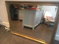 Large gold mirror for £100