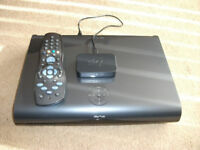 SKY+ HD 1TB DIGIBOX WITH WIFI, BOXED COMPLETE WITH CABLES AND REMOTE