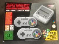 New SNES classic mini console