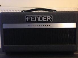 FENDER BASSBREAKER 007 - TUBE GUITAR AMP HEAD VGC